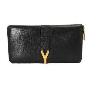 Saint Laurent Y ligne zip around wallet